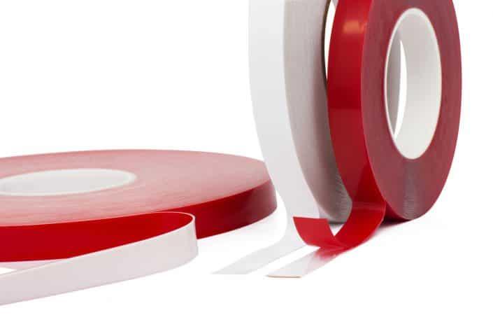 Doppelseitig klebende Reinacrylatbänder